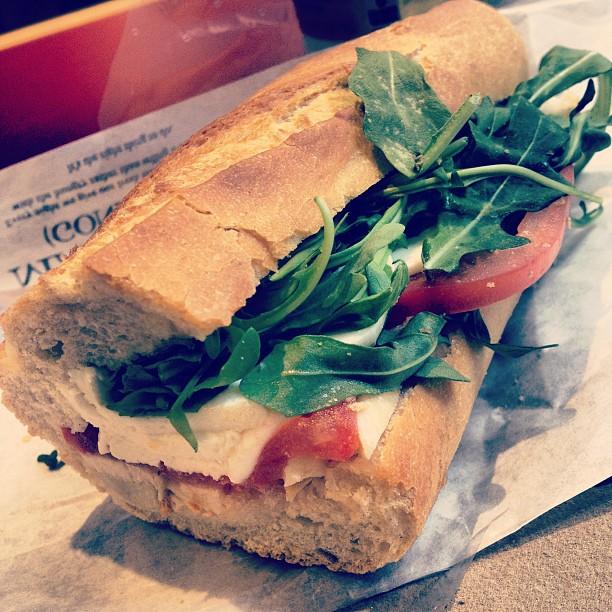 Caprese Sandwich • Pret a Manger
