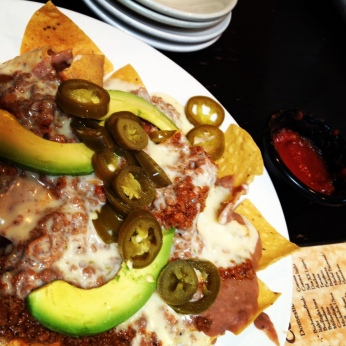 nachos ($3.50 at happy hour!)