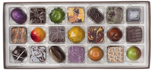 Christopher Elbow Chocolates - photo credit to Food & Wine