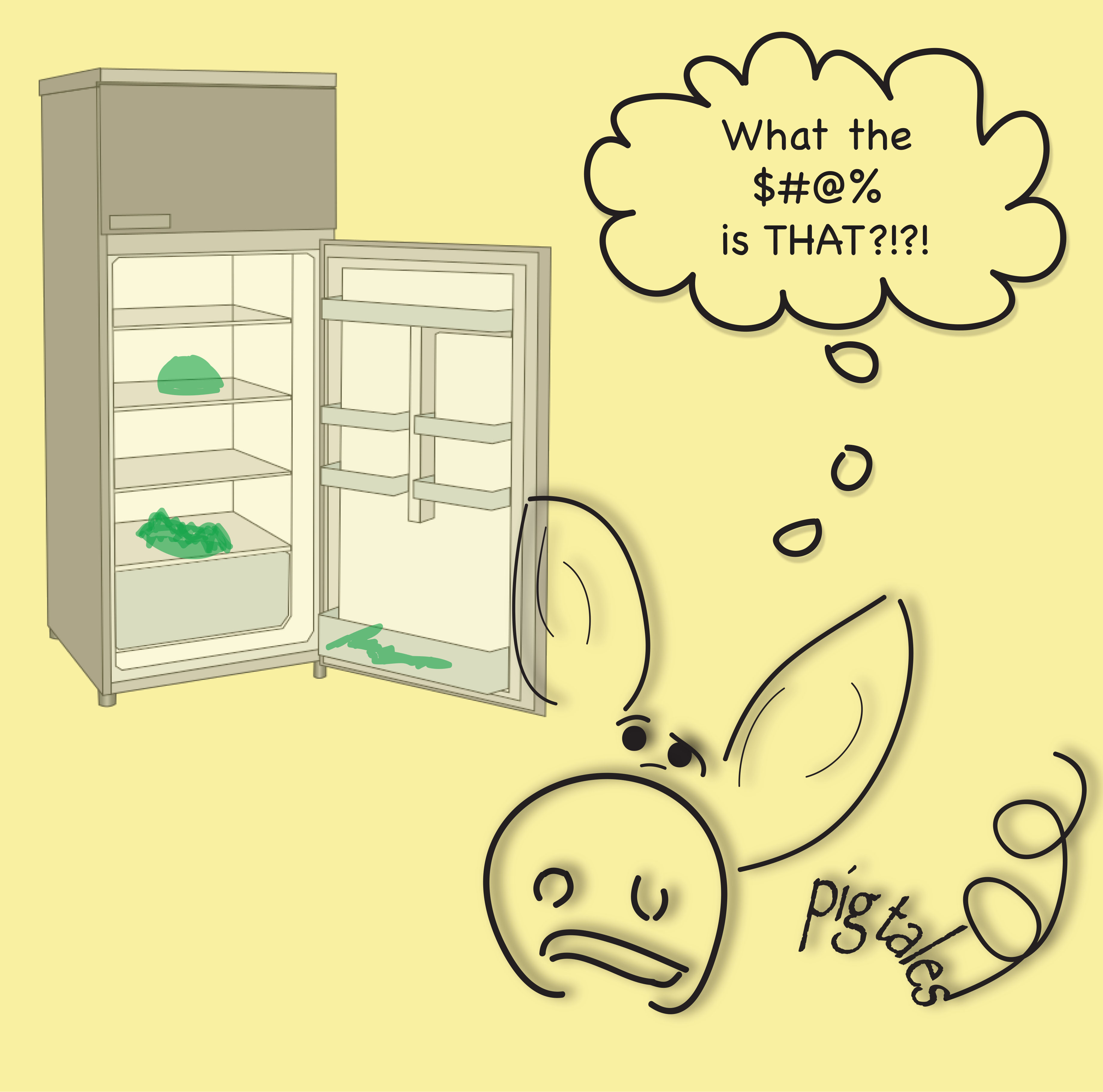 Messy Refrigerator: Fridge Fever